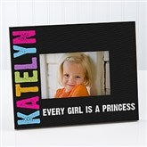 All Mine! Kids Black Personalized Picture Frame - 14862