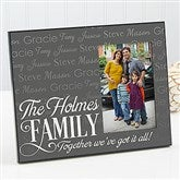 Family Is Love Personalized Frame - 14867