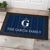 Elegant Monogram Personalized Doormat- 20x35 - 14870-M