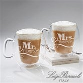 Luigi Bormioli® Mr. & Mrs. Insulated Engraved 2pc Mug Set - 14878