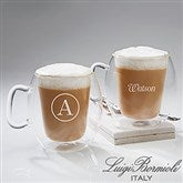Luigi Bormioli® Engraved Insulated Glass Mug - 14880-N