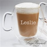 Luigi Bormioli® Engraved Insulated Glass Mug- Name - 14880-N