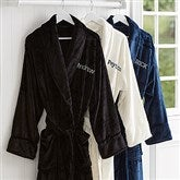 Just For Him Embroidered Luxury Fleece Robe- Name - 14893-N