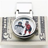 Favorite Faces Photo Watch Money Clip - 14897D