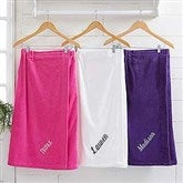 Spa Comfort Ladies Embroidered Towel Wrap - 14898-N