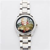 Favorite Faces Silver Men's Photo Watch - 14899D