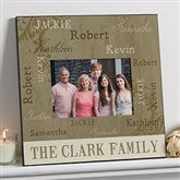Repeating Name 5x7 Personalized Wall Frame - 14914