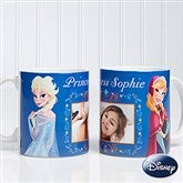 Disney® Frozen Personalized Coffee Mug 11 oz.- White - 14926-W
