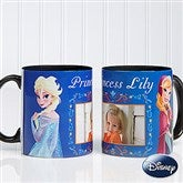 Disney® Frozen Personalized Coffee Mug 11oz.- Black - 14926-B