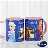 Disney® Frozen Personalized Coffee Mug 11oz.- Pink - 14926-P