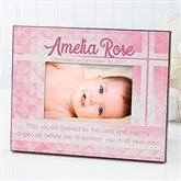 May You Be Blessed Christening Personalized Picture Frame - 14931