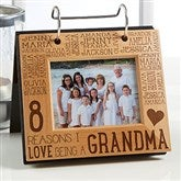 Reasons Why For Her Engraved Photo Flip Picture Album - 14943