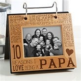 Reasons Why For Him Personalized Photo Flip Picture Album - 14944