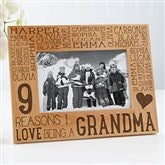 Reasons Why For Her Personalized Picture Frame- 4 x 6 - 14945-S