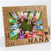 Reasons Why For Her Personalized Picture Frame- 8 x 10 - 14945-L