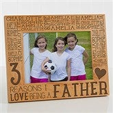 Reasons Why For Him Personalized Picture Frame- 5 x 7 - 14946-M