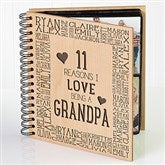 Reasons Why For Him Personalized Photo Album - 14948