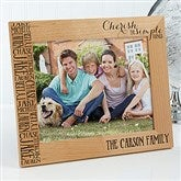 Cherish The Simple Things Personalized Picture Frame- 8 x 10 - 14949-L
