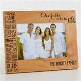 Cherish The Simple Things Personalized Picture Frame- 5 x 7 - 14949-M