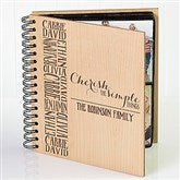 Cherish The Simple Things Personalized Photo Album - 14950