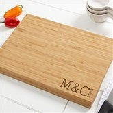 Family Name Established... Personalized Bamboo Cutting Board- 10x14 - 14952