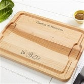 My Cucina Personalized Maple Cutting Board- 12x17 - 14959