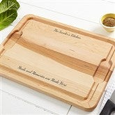 You Name It Personalized Maple Cutting Board - 14960