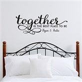 Together...Personalized Vinyl Wall Art - 14979