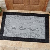 Family Blessings Personalized Doormat- 20x35 - 14994-M