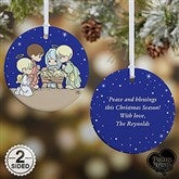 Precious Moments® Nativity Personalized Ornament - 14996