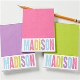 All Mine! Personalized Mini Notepad Set of 3 - 15018