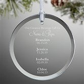 My Grandkids Personalized Ornament - 15020