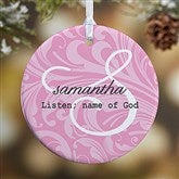 1-Sided Name Meaning Personalized Ornament - 15021-1