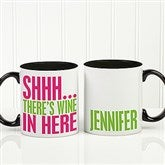 Funny Morning Quote Personalized Coffee Mug 11oz.- Black - 15040-B