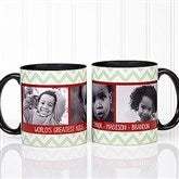 Picture Perfect Christmas Photo Personalized Coffee Mug 11oz.- Black - 15041-B