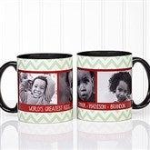 Picture Perfect Christmas Photo Personalized Coffee Mug 11oz.- Black - 15041-B