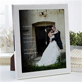 Wedding Sentiments Personalized Photo With Frame- 8