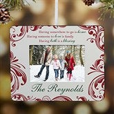Christmas Blessings Personalized Mini-Frame Ornament - 15068