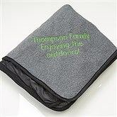 You Name it! Embroidered Picnic Blanket - 15071