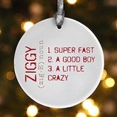 1-Sided Definition of Pet Personalized Ornament - 15076-1