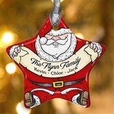 Vintage Santa Personalized Ornament