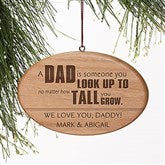 Special Dad Personalized Ornament - 15088