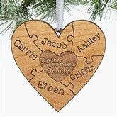 Together We Make A Family Personalized Ornament - 15089