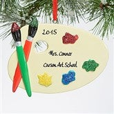 Painter's Palette© Personalized Ornament