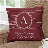 Holiday Wreath Personalized 14