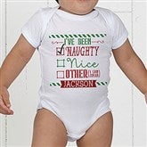 I Can Explain Personalized Christmas Baby Bodysuit - 15124-CBB