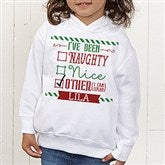 I Can Explain Personalized Christmas Toddler Hooded Sweatshirt - 15124-THS