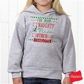 I Can Explain Personalized Christmas Youth Hooded Sweatshirt - 15124-YHS