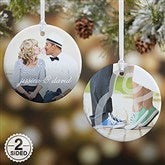 2-Sided You & I Personalized Photo Ornament- Small - 15140-2