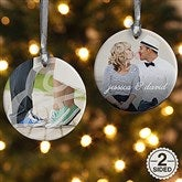 2-Sided You & I Personalized Photo Ornament - 15140-2